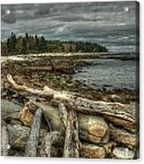 Reid Beach Acrylic Print