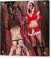 Reindeer Slay Acrylic Print