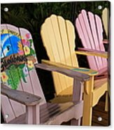 Relax Here Acrylic Print