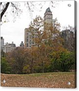 Relax In Central Park Acrylic Print