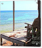 Relax Porch Acrylic Print