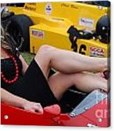 Relaxed Racer Acrylic Print