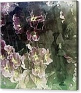 Relaxing Flowers Acrylic Print