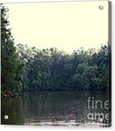 Relaxing Lake Landscape Acrylic Print