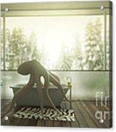 Relaxing Octopus...  Acrylic Print