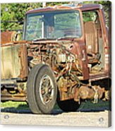 Relic Behind The Gas Station Acrylic Print