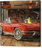 Relics Of History - Corvette - Elvis - Nehi Acrylic Print