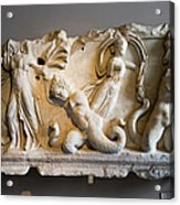 Relief Depicting Gigantomachy Acrylic Print