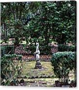 Religion In The Garden Acrylic Print