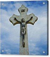 Religious Cross Acrylic Print