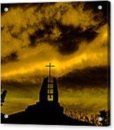 Religious Moment Acrylic Print