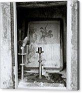 Religious Window Acrylic Print