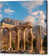 Remains Of Apollo Temple Acrylic Print