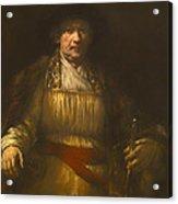 Rembrandt Self Portrait Acrylic Print