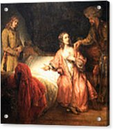 Rembrandt's Joseph Accused By Potiphar's Wife Acrylic Print