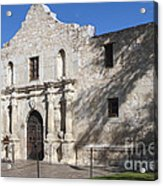 Remember The Alamo Acrylic Print