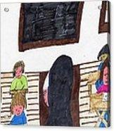 Remember When Teachers Were Nuns  Acrylic Print