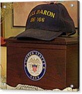 Remembering De-166 Uss Baron Acrylic Print