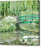 Remembering Monet  Acrylic Print