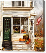 Remembering When- Porches Art Acrylic Print