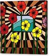 Remembrance Poppy Acrylic Print