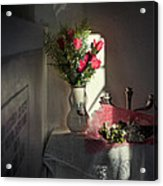 Remembrance The Vase Acrylic Print
