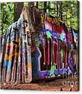 Remnants Of The Whister Train Wreck Acrylic Print