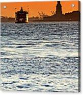 Remote Lady Liberty Acrylic Print