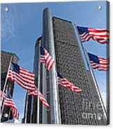 Rencen And Flags Acrylic Print