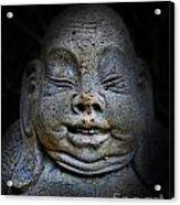 Qieci The Fat Budai - Fat Buddha Acrylic Print