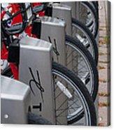 Rental Bikes Acrylic Print