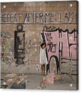Repeat After Me  Acrylic Print