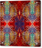 Repeating Realities Abstract Pattern Artwork By Omaste Witkowski Acrylic Print