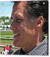Republican Mitt Romney Acrylic Print