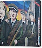 Republican Murals Against British Rule Acrylic Print