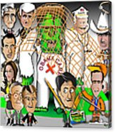 Republicans Net Frankenstein Monster Acrylic Print by Dan Youra