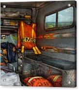 Rescue - Emergency Squad  Acrylic Print