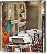 Rescue - Inside The Ambulance Acrylic Print
