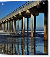 Research Pier- Scripps Acrylic Print