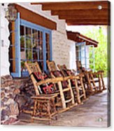 Reserved Seating Palm Springs Acrylic Print