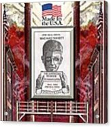 Reshoring The American Dream Acrylic Print