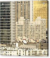 Residential High Rises In Beijing China Acrylic Print