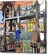 Resort Cantina Bar Wine-liquor-beer Acrylic Print