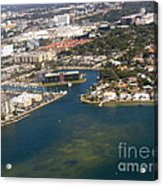 Resort City In The South Acrylic Print
