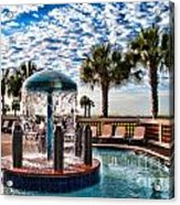 Resort Pool Acrylic Print
