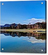 Resort Reflections 2 Acrylic Print