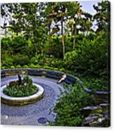 Respite - Carl Schurz Park 2 - Manhattan - New York Acrylic Print