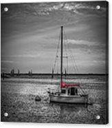 Rest Day B/w Acrylic Print by Marvin Spates
