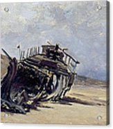 Rest Of A Shipwreck Acrylic Print