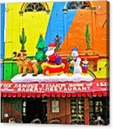 Restaurant In Gateway To The Amazon River In Iquitos-peru Acrylic Print